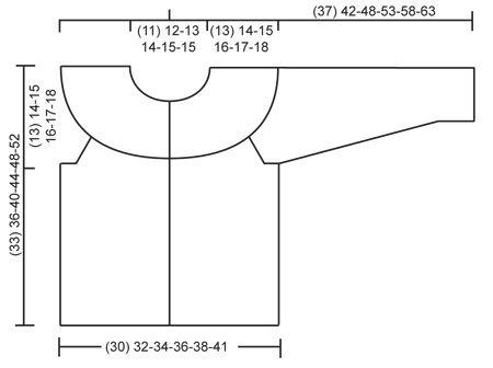 """Gebreid DROPS vest in tricotst en ribbelst met ronde pas van """"Air"""". MAAT 12 maanden - 10 jaar. Gratis patronen van DROPS Design."""