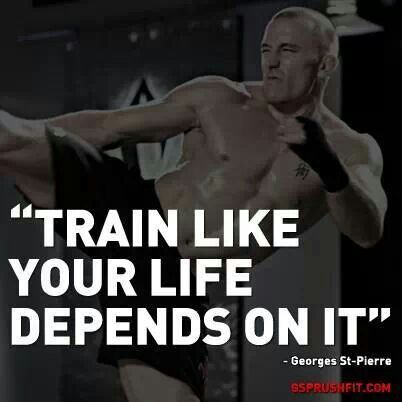 Like Your LIFE depend on it!