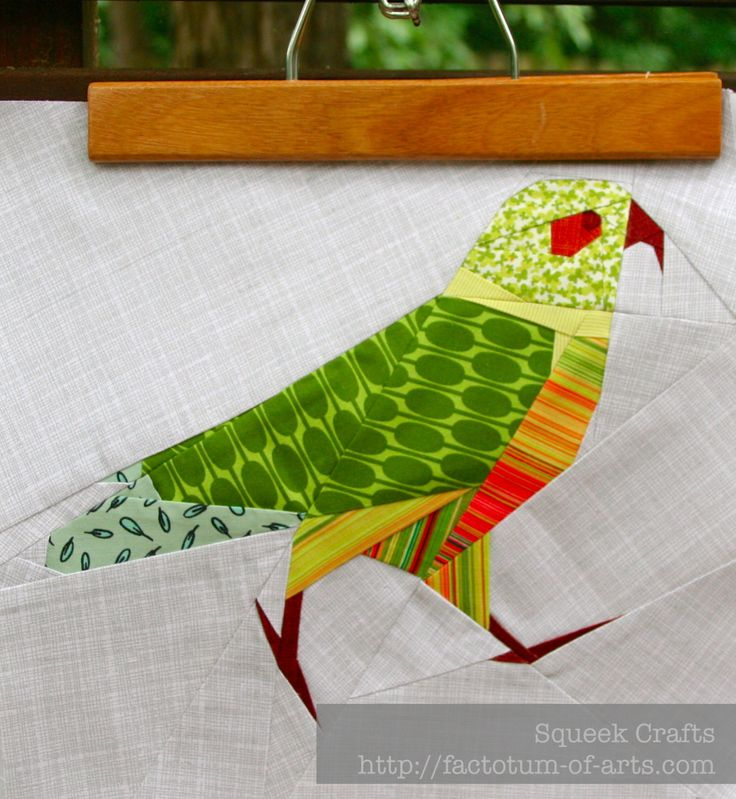 128 best Quilt bird patterns images on Pinterest
