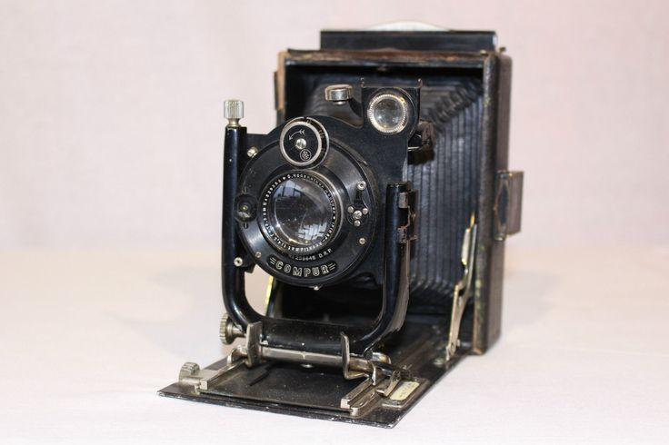 Vintage voigtlander d r p compur folding plate camera g for Camera camera camera