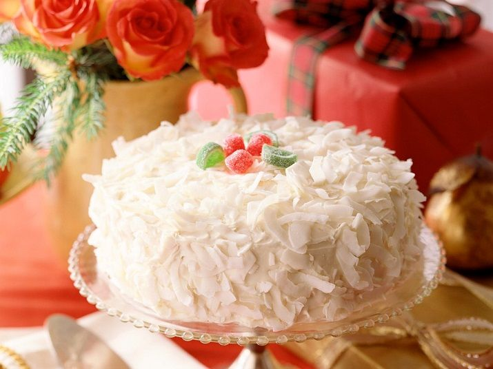 Замечательный торт без выпечки «Рафаэлло»