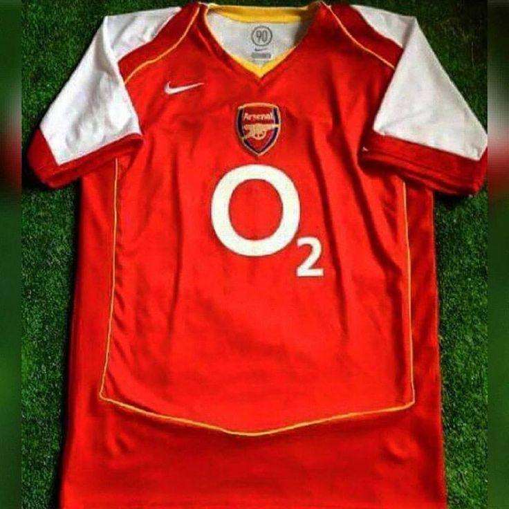 2004/05 Arsenal Home Shirt