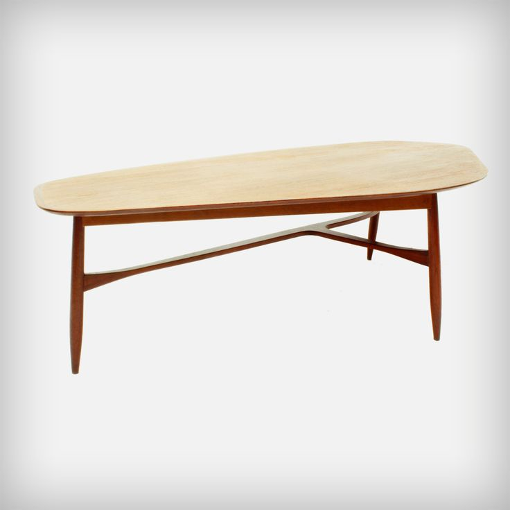 Huge Teak Coffee Table by Svante Skogh | Made in Sweden | MID-CENTURY furniture, art & accessories :: We ship worldwide! www.goodoldvintage.de