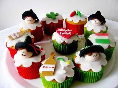Ideas de cupcakes para estas fiestas patrias