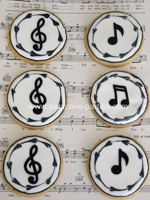 gallery of musical cookies | Recent Photos The Commons Getty Collection Galleries World Map App ...