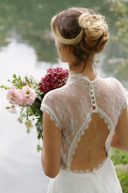 La sutileza bucólica de los vestidos de novia de Marie Laporte 2015 [Fotos]