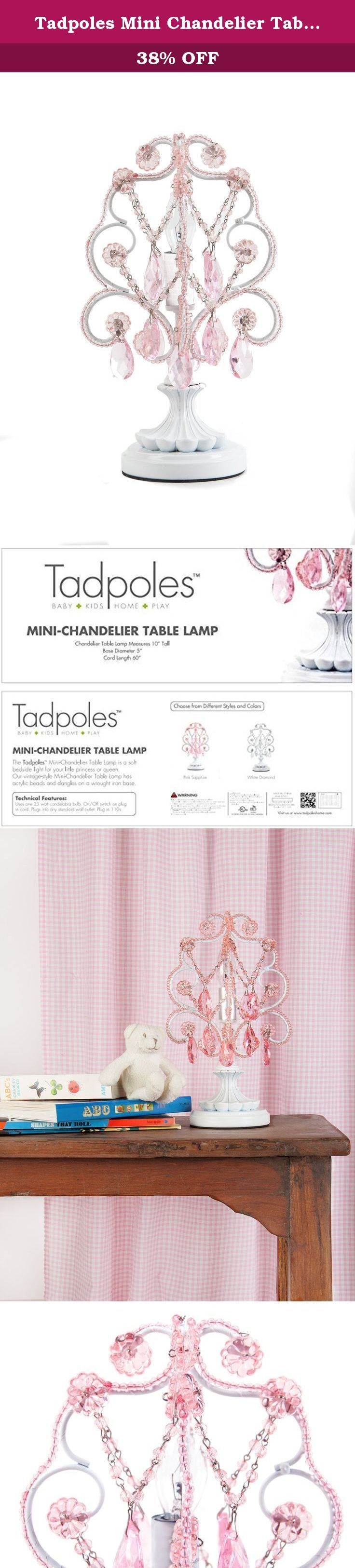 3904 best table lamps lamps shades lighting ceiling fans tadpoles mini chandelier table lamp pink a lovely little chandelier to offer a soft arubaitofo Gallery