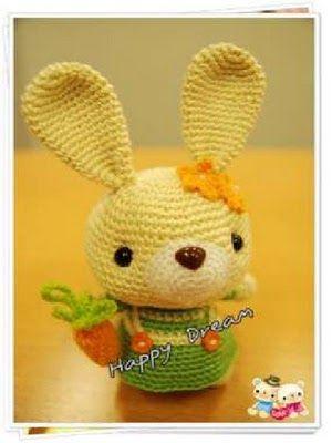 Amigurumi Bunny ~ Free Pattern