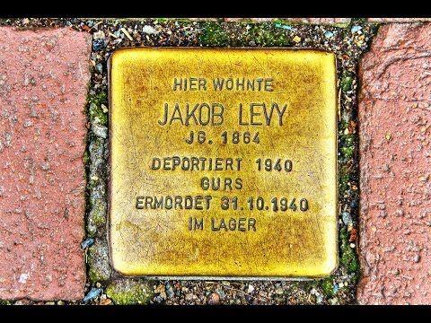 Jakob Levy • Kornmarkt 12 • Stolperstein in Osterode am Harz ...