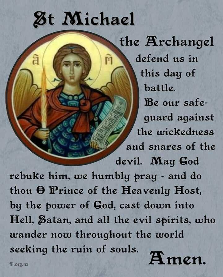 St Michael Prayer