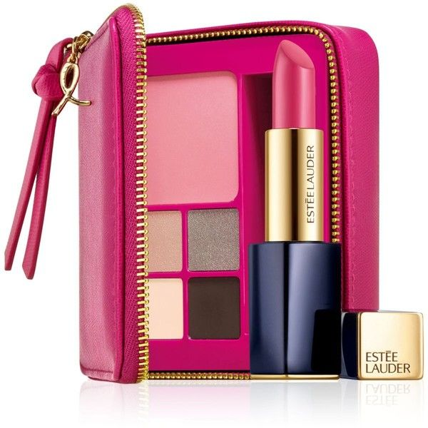 Estee Lauder Pink Ribbon Compact (£27) ❤ liked on Polyvore featuring beauty products, makeup, beauty, filler, no color, estée lauder, estee lauder makeup, highlight makeup, palette makeup and estee lauder cosmetics