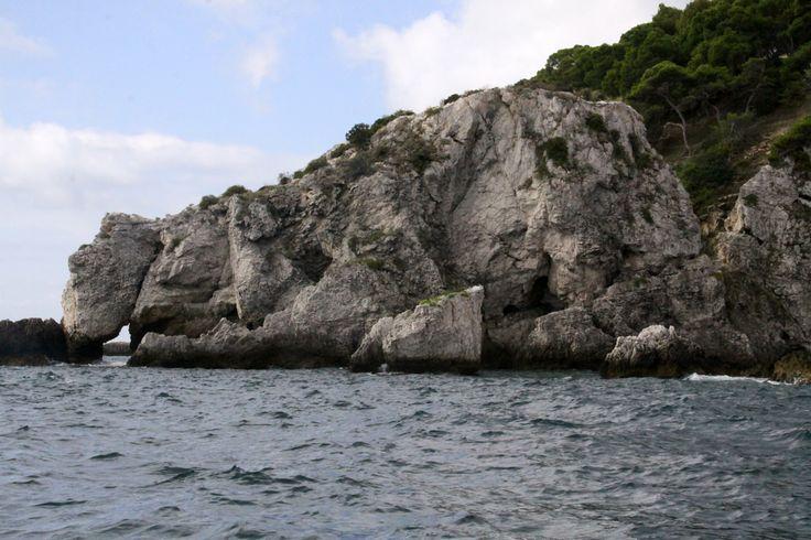 Isola di San Domino: scoglio dell'Elefante