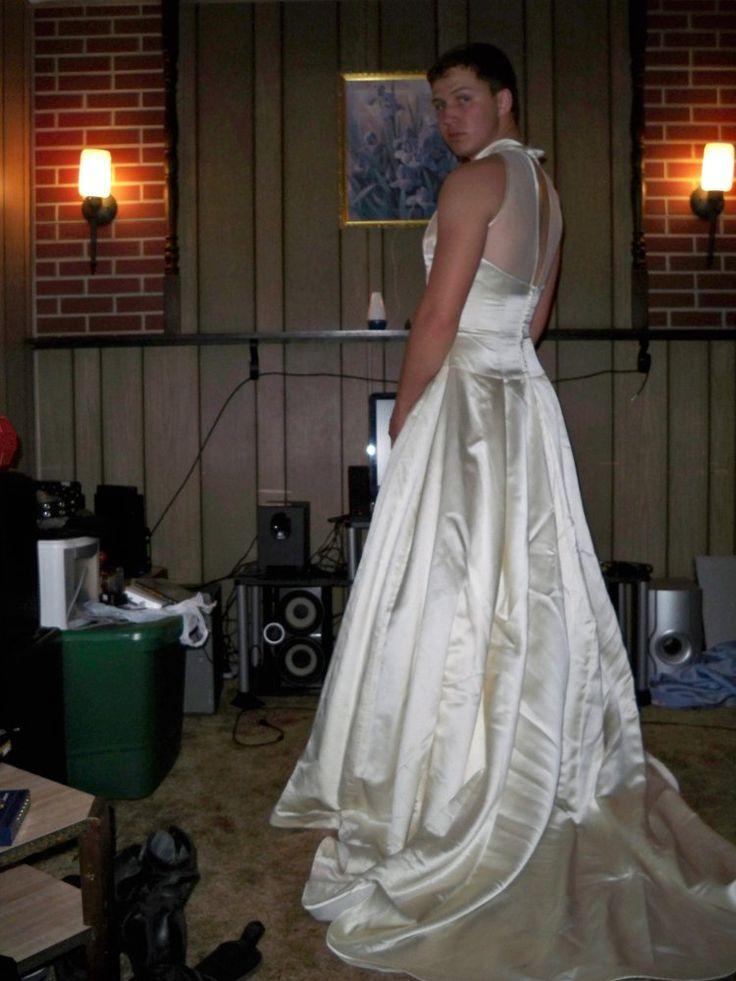 wedding dress crossdress 2 by skirttrain