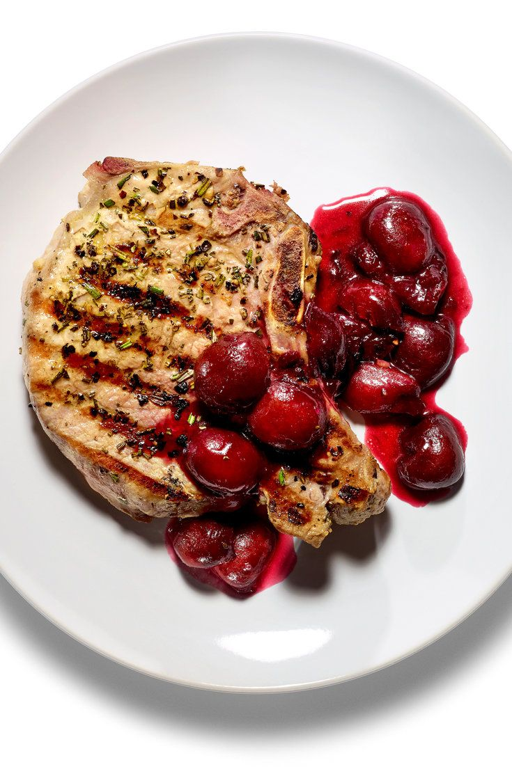 NYT Cooking: If you thought pork and apples were a winning combination, just wait 'til you try pork and cherries.