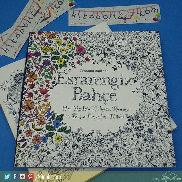 Her yaş için #bulmaca ve #boyama kitabı şimdi www.kitapbir.com 'da  #kitap #kitaplik #kutuphane #boyama #esrarengizbahçe #desen #kitapkurdu #eglenceli #eglence