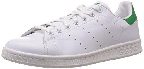 adidas Originals Stan Smith M20324, Unisex-Erwachsene Low-Top Sneaker, Weiß (Running White/Running White/Fairway), EU 48 - http://uhr.haus/adidas-originals/48-eu-adidas-stan-smith-sneaker-8-5-uk-42-2-3-eu