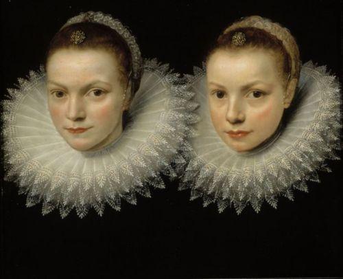 Cornelis de Vos : Two sisters (ca.1610-1615)