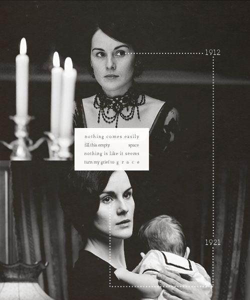 Mary Crawley 1912 -> 1921