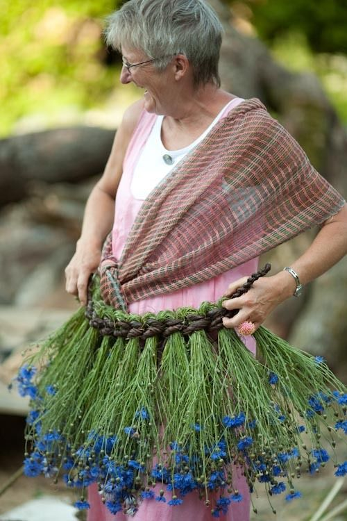 Tim Johnson - Basketmaking - Working with Rush, Grasses, Bark and other soft materials.