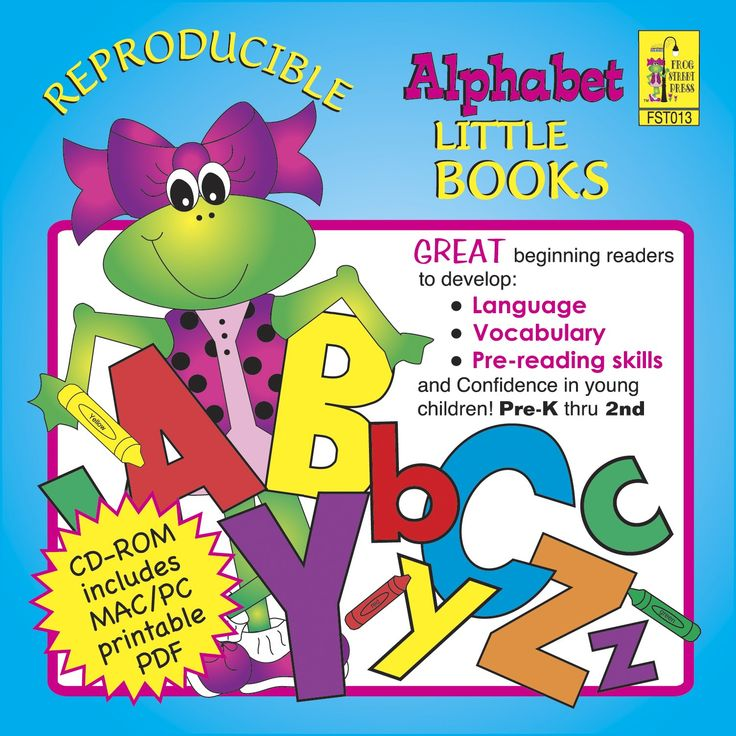 Alphabet Reproducible CD ROM  | Frog Street Press