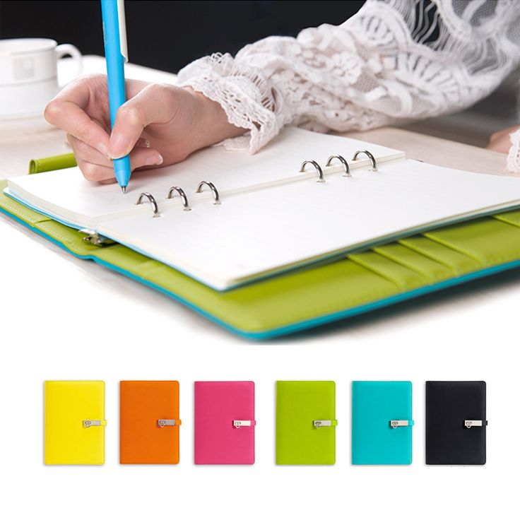 2017 A5 Cute Candy Agenda Daily Planner Organizer Dokibook Notebook Loose-leaf Notebook Gifts Spiral Notepad Office Stationery #Affiliate