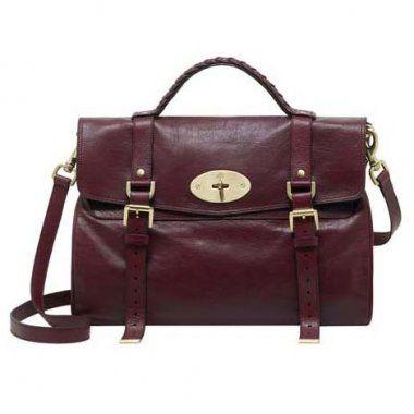 ... bag 28823 2b3e5 closeout mulberry alexa wine red calf satchel dobestbuy  deec1 14acc ... 173c7f32dcc23