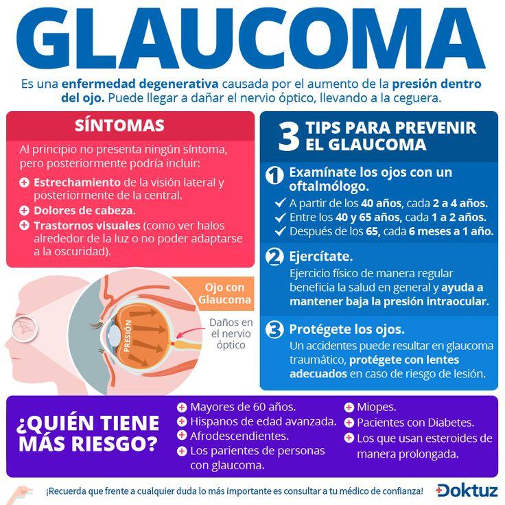 Glaucoma: enfermedad degenerativa