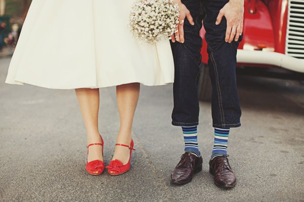 Inspired by These Colored Wedding Shoes - Inspired By This