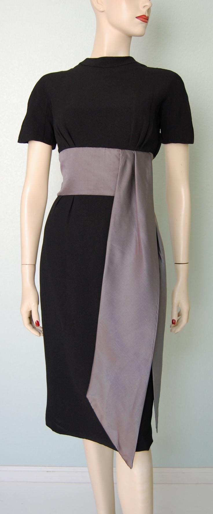 1950's Kimono Inspired Dress