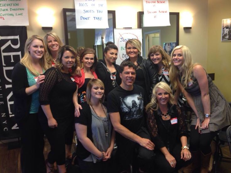 This is from a hands on class at the Elle Marie salon in Seattle. Go Elle Marie!