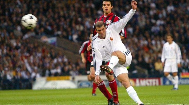 Zinedine Zidane - Real Madrid - Bayer Leverkusen