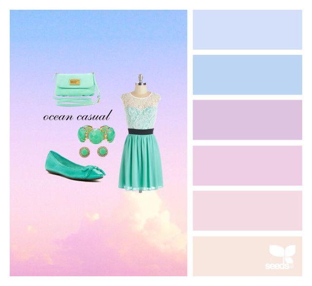 """""""ossean casual"""" by corien-1 ❤ liked on Polyvore featuring Kate Spade, Kendra Scott, Chocolat Blu, Marc by Marc Jacobs, women's clothing, women, female, woman, misses and juniors"""