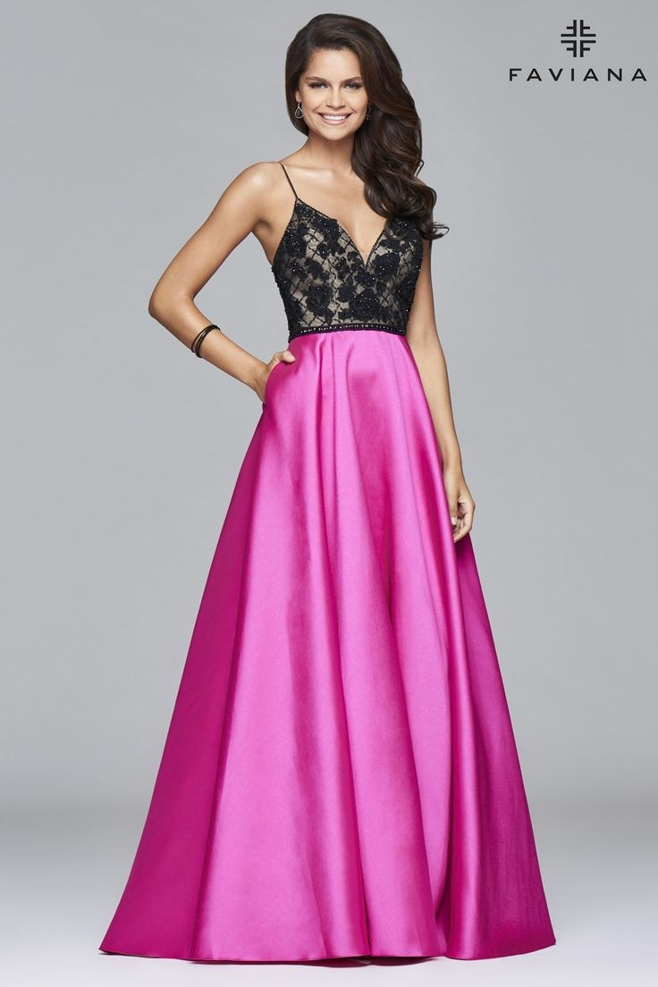 114 best Faviana images on Pinterest | Ball dresses, Ball gowns and ...