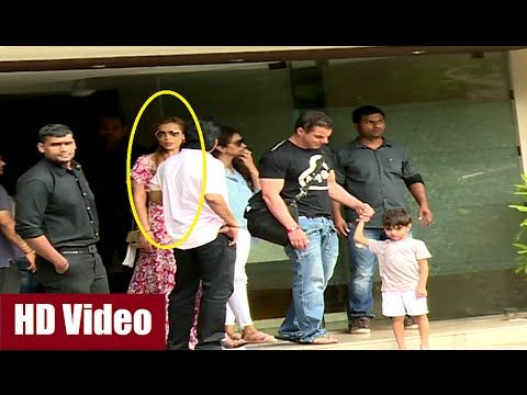 Salman Khan's GF Lulia Vantur spotted at Khan family's Raksha Bandhan celebration.