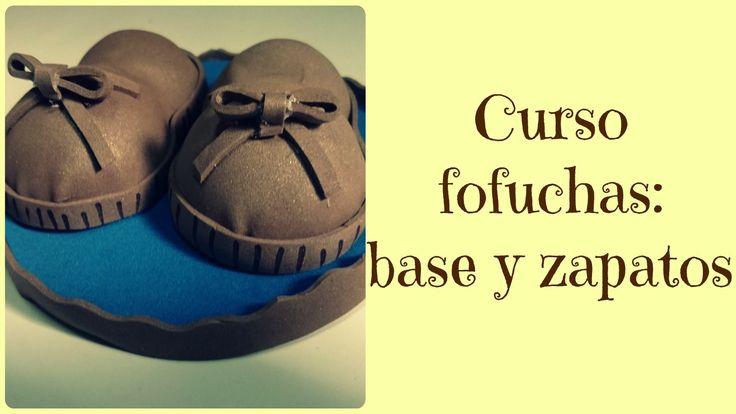 Curso para hacer fofuchas parte I: Cómo hacer base y piés para #fofuchas #manualidades #gomaeva #crafts #porex #diy #handmade