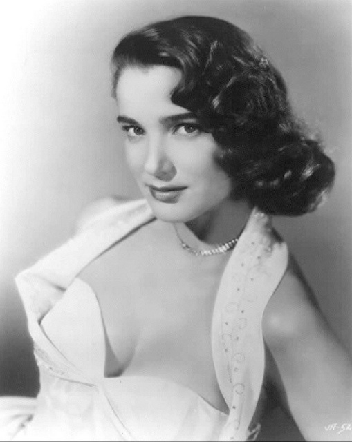 "Julie Adams - Glamour shot without the ""Creature"" this time."