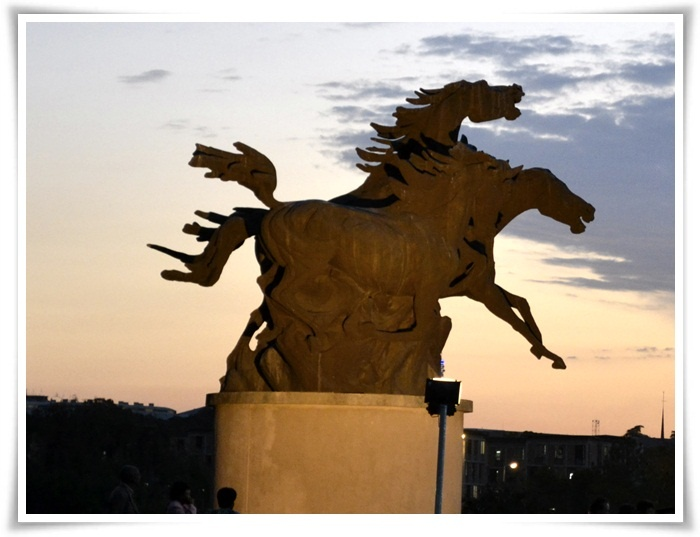 Horse Statue.  University of Pretoria.  Pretoria, SOUTH AFRICA
