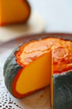 Pumpkin Cheesecake まるごとかぼちゃのベイクドチーズケーキ