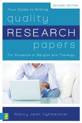 quality research papers by nancy vyhmeister