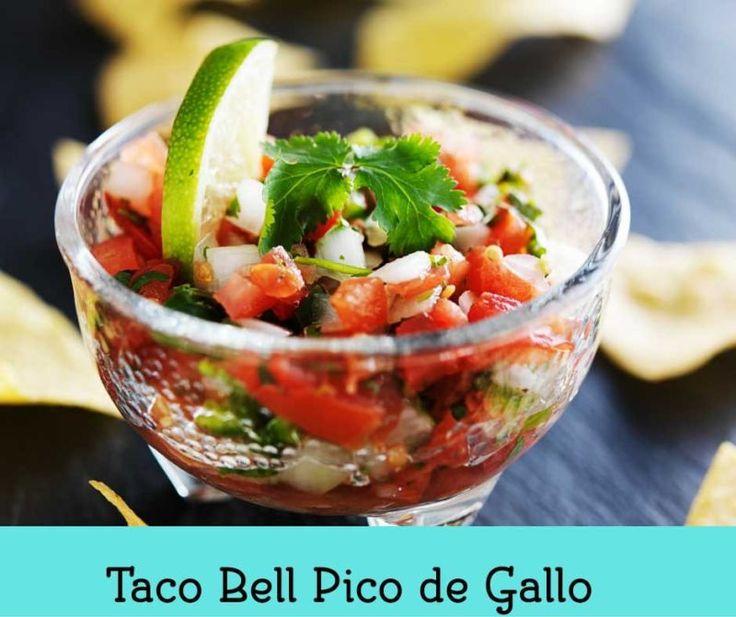 Taco Bell Pico de Gallo, Pin This!