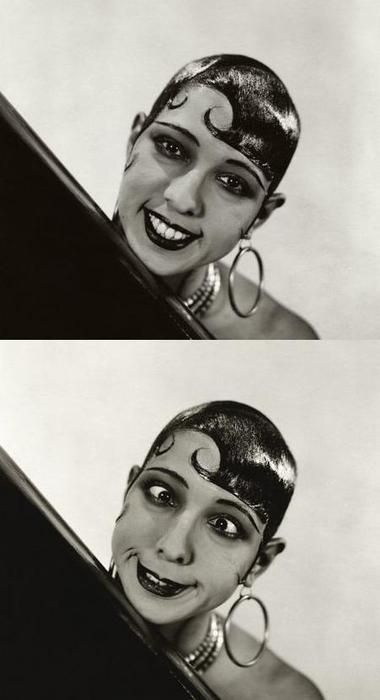 'Beautiful? It's all a question of luck. I was born with good legs. As for the rest... beautiful, no. Amusing, yes'. (Joséphine Baker)