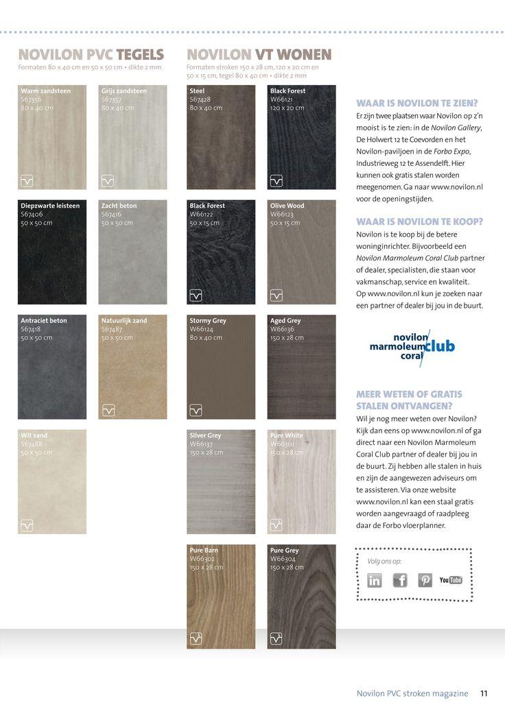 Forbo Flooring NL - Novilon pvc stroken brochure - Pagina 10-11