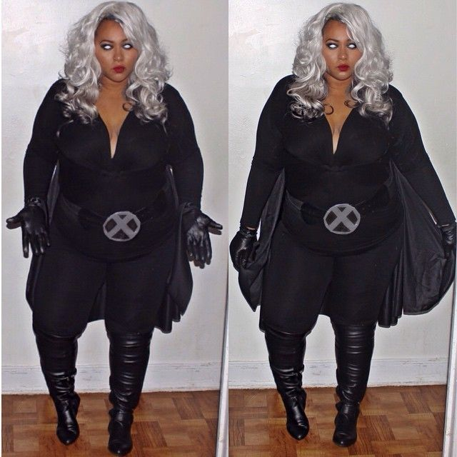 15 Plus Size Halloween Costumes that WOWED Us- Curves on the Move as Storm                                                                                                                                                     More