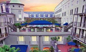 This four-star top-secret hotel on Bourbon Street features an art gallery and a rooftop pool