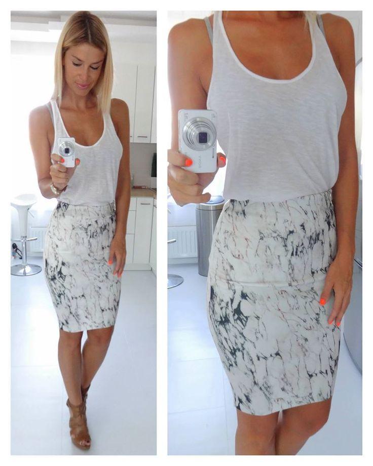 pencil skirt ::: regina dukai