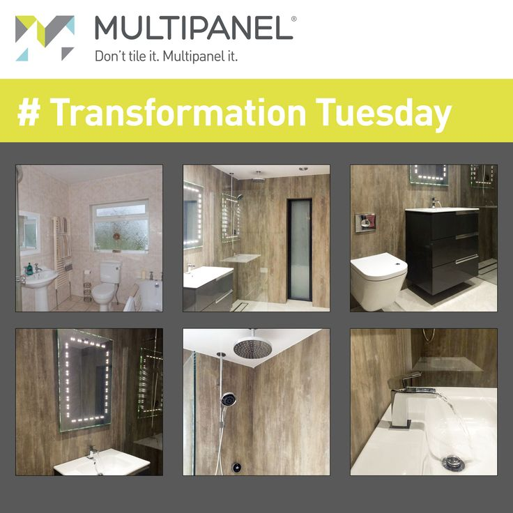 #TransformationTuesday - Looking to transform your interior? The proof is in the pudding, just look at the before and after shots. www.multipanel.co.uk
