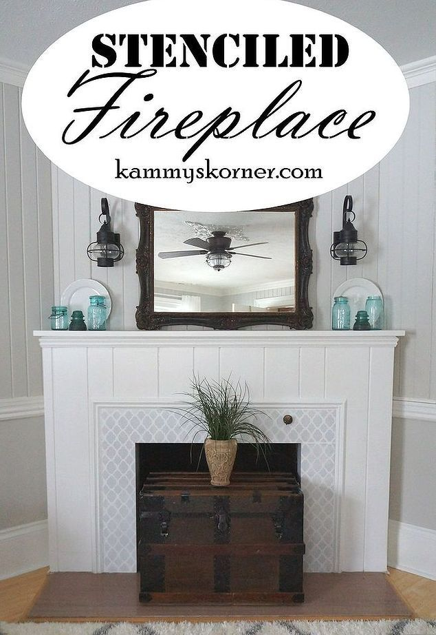 10 Jaw Dropping Fireplace Makeovers We Canu0027t Stop Looking At