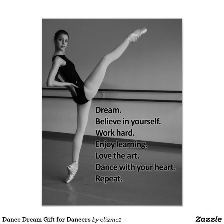 Dance Dream Gift for Dancers