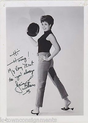 JANE WITHERS BRIGHT EYES MOVIE CHILD ACTRESS AUTOGRAPH SIGNED STUDIO PHOTO