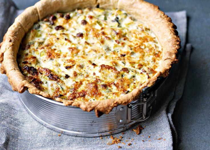 Leek and ricotta tart | FOODWISE